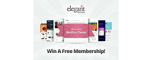 Win An Elegant Themes Membership