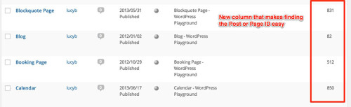 Reveal IDs WordPress Plugin