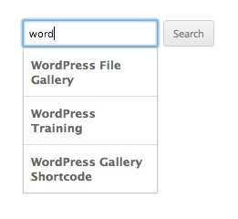swiftype autocomplete for WordPress