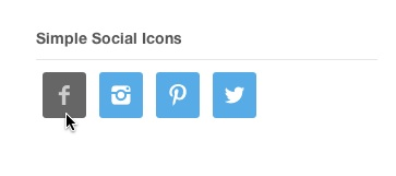 simple social icons by nathan rice
