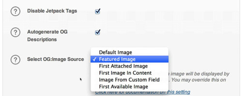 All In One SEO Pack Social Meta Image Options