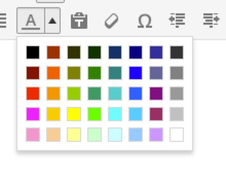 Text Color Options - WordPress 3.9