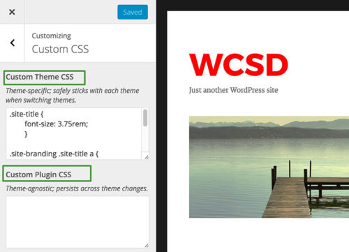 Customizing WordPress - Modular Custom CSS